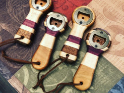 Hardwood Bottle Openers